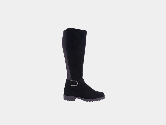 Warm boot with elastic insert