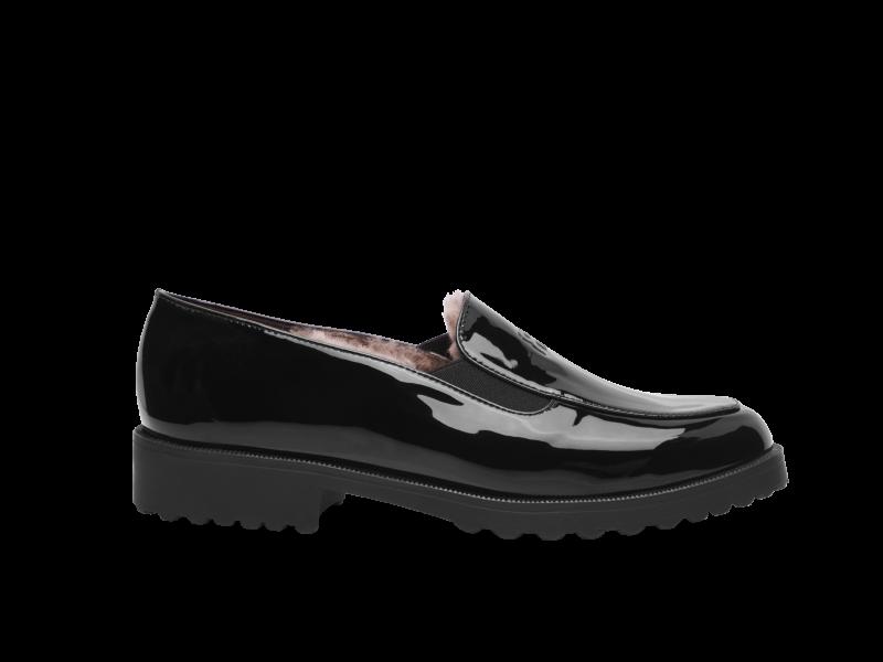 Lined loafer