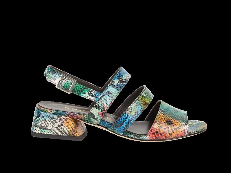 Bunte Sandalette