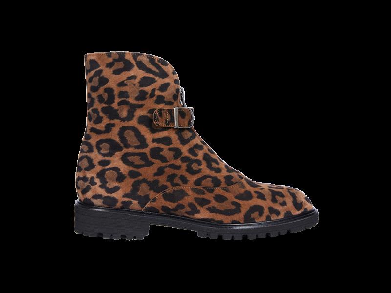 Classic bootie in leopard print