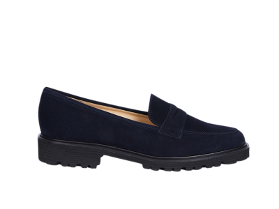 Sportlicher Loafer in blau